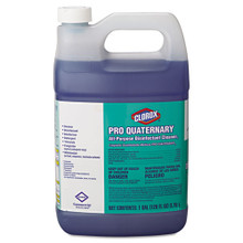 Clorox Pro Quaternary All-Purpose Disinfectant Cleaner, 128 oz Bottle, 2/Carton (CLO30423)