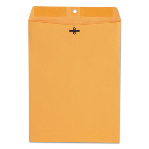 Kraft Clasp Envelope, Center Seam