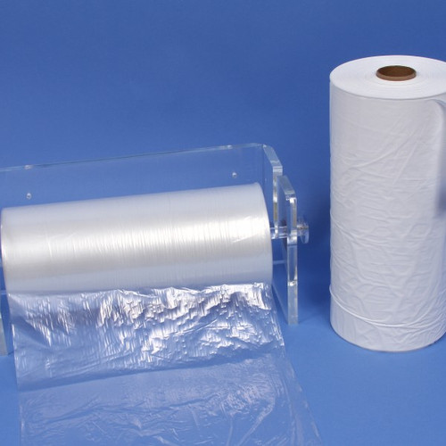 12x18 Wet Bags, White, BV1203 (750 bags/roll) (4 rolls/case)  * Stand not included