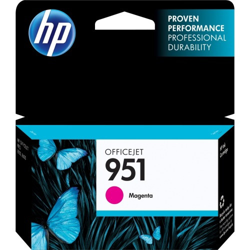 HP 951 Ink Cartridge - Magenta (CN051AN)
