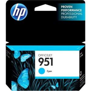 HP 951 Ink Cartridge - Cyan (CN046AN)