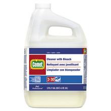 PGC02291CT Procter & Gamble Comet Cleaner with Bleach, Liquid, One Gallon Bottle, 3/Carton