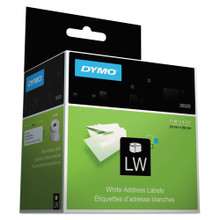 LabelWriter Address Labels, 1 1/8 x 3 1/2, White, 260 Labels/Roll, 2 Rolls/Pack (DYM30320)