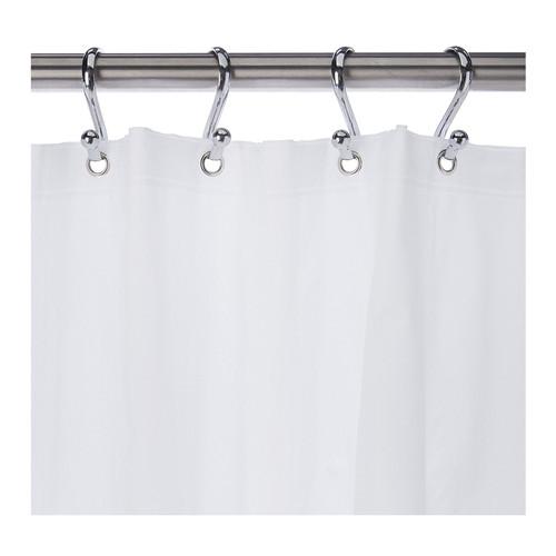 Kenney Manufacturing Medium Weight PEVA Shower Liner, White (KN61440)