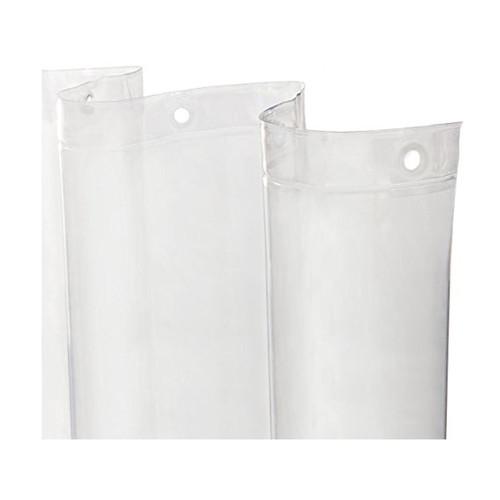 Kenney Manufacturing Light Weight PEVA Shower Liner, Clear (KN61433V1)
