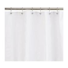 Kenney Manufacturing Light Weight PEVA Shower Liner, White (KN61430V1)