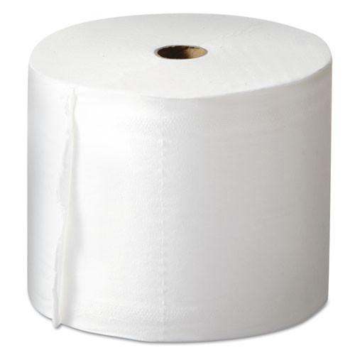 MORCON Mor-Soft Coreless Alternative Bath Tissue, 2-Ply, White, 1000 Sheets/Roll, 36/Ct
