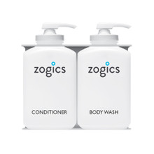 Zogics Bulk Personal Care Dispensers, 2 Chambers