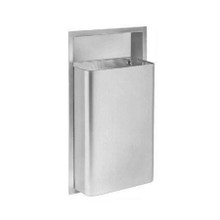 Bradley Recessed Waste Receptacle (BRA 344)