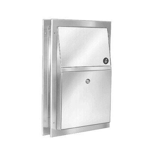 Bradley Napkin Disposal Partition Recessed (BRA 4721-15)