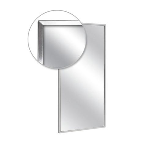 A&J Washroom Channel Frame Mirror (U711)