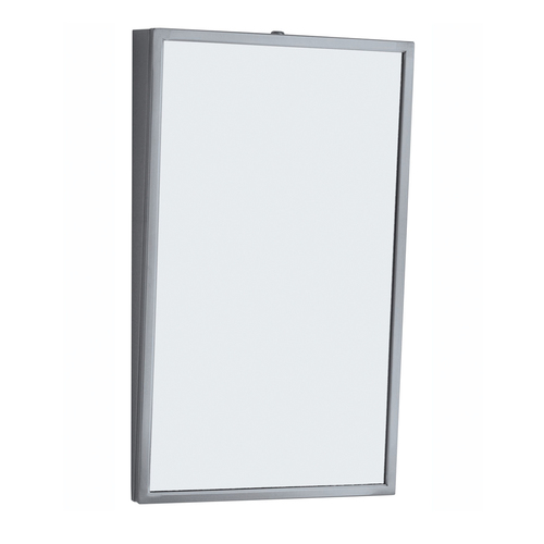 Bobrick Stainless Fixed Tilt Frame Mirror (B-293)