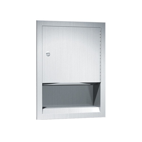 American Specialties C-Fold Paper Towel Dispenser, Recessed (ASI-0457)