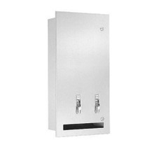 Bradley Dual Napkin/Tampon Dispenser & Disposal (BRA-4017)