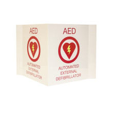 AED Plus 3-D Wall Sign (FME-13767)