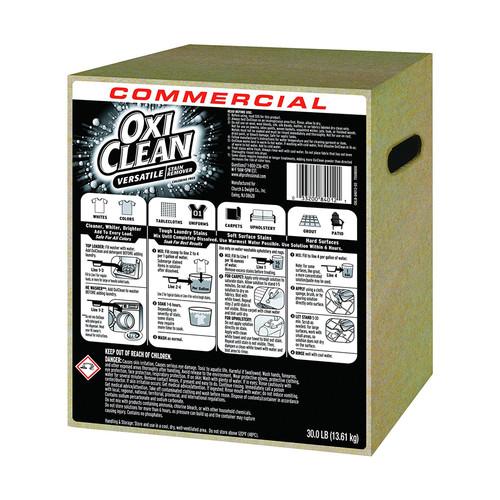Oxi Clean Stain Remover, Regular Scent, 30 lb Box (Powder)