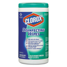 Clorox Disinfecting Wipes, (75 wipes/canister) (6 canisters/case)