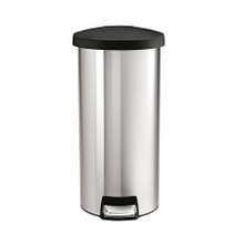 Simplehuman Round Step Can, Stainless Steel, 30-liter, CW1967 (CW1967)