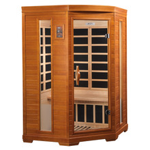 DYN-6225-02 Dynamic Low EMF Far Infrared Sauna, LeMans Edition