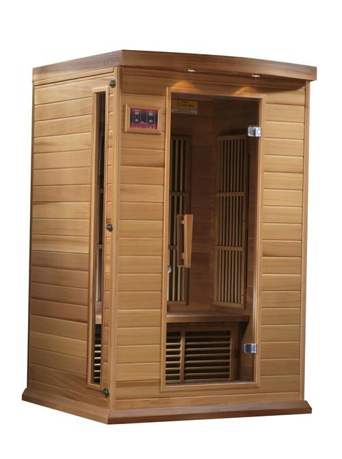 MX-K206-01 Canadian Red Cedar Low EMF FAR Infrared Sauna