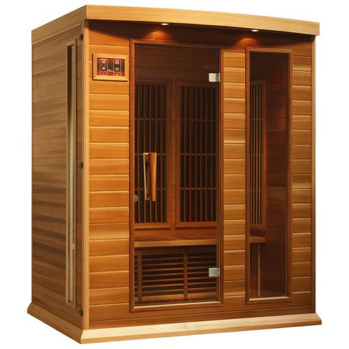 MX-K306-01 Canadian Red Cedar Low EMF FAR Infrared Sauna