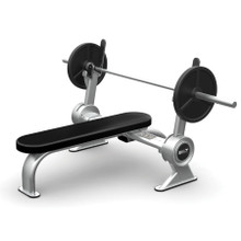 BILT by Agassi & Reyes Flat Bench, Weight Bench, Silver, BCFB01