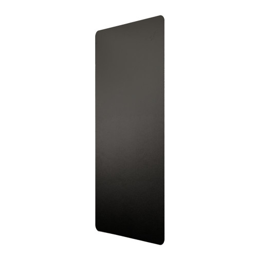Excel Dryer Anti-Microbial Wall Guard, Black, 89-W, Side Left