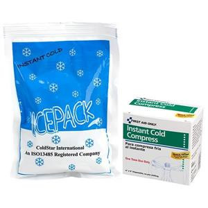 First Aid Only Instant First Aid Cold Compress, M564EAC