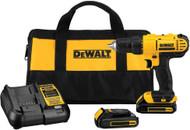 DeWalt 20V MAX* Lithium Ion Compact Drill/Driver Kit