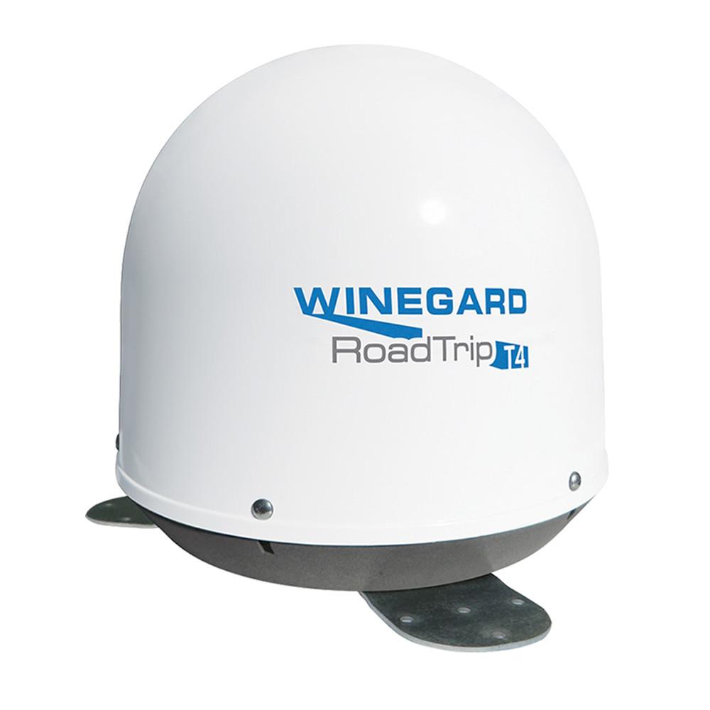 Winegard Rv Satellite Wiring Diagram Inside Directv Dish Roadtrip T4 In Motion Antenna White Rt2000t Rh Dishformyrv Com 2008 Keystone Montana 2005 Flee Southwind