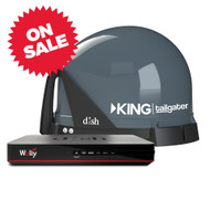 KING Tailgater Antenna Bundle with Wally