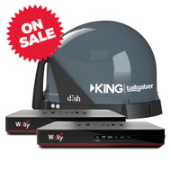 KING Tailgater 2 Receiver Antenna Bundle with Wally