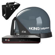 KING Tailgater Antenna Trucking Bundle with Wally