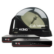 DISH Tailgater Pro 2 Receiver Antenna Bundle With Wally
