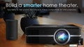 Refurbished Optoma UHD51A 4K Ultra HD Home Cinema HDR 3D Smart Projector with Amazon Alexa Built-in