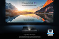 Optoma CinemaX P1 Smart 4K UHD Laser Cinema Ultra Short Throw Projector