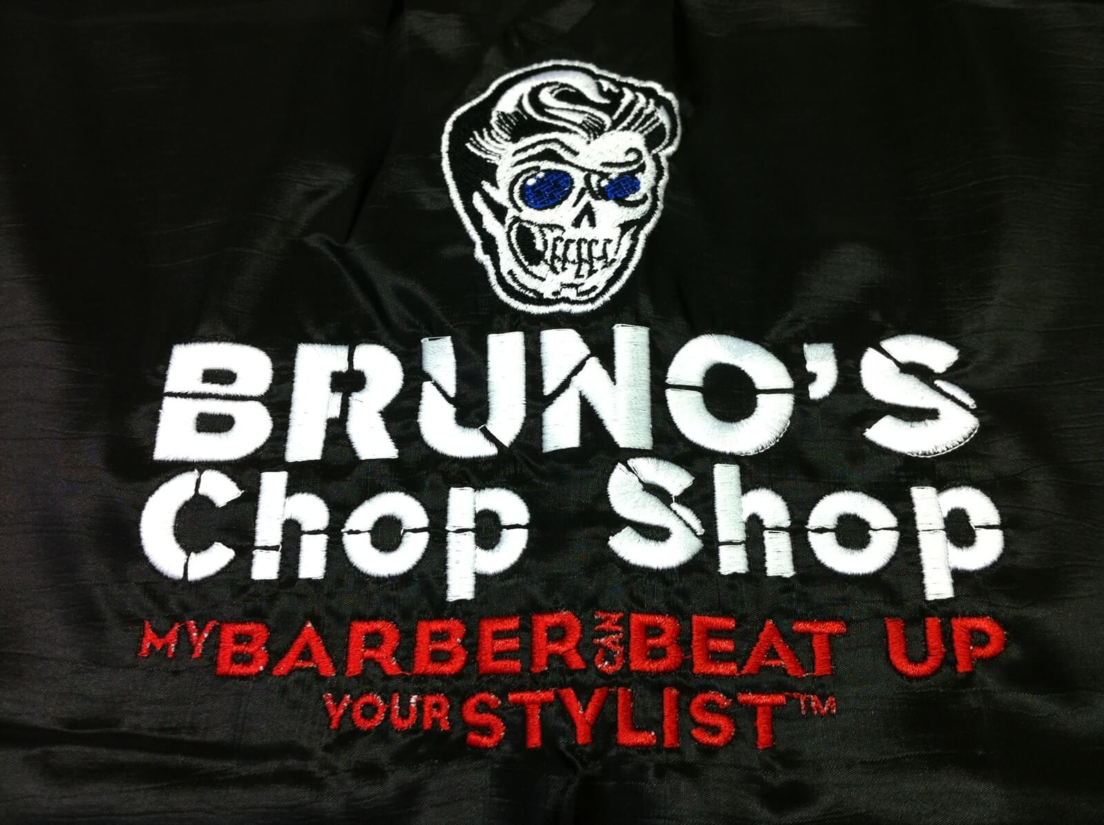 Bruno's loves Custom Salon Capes!