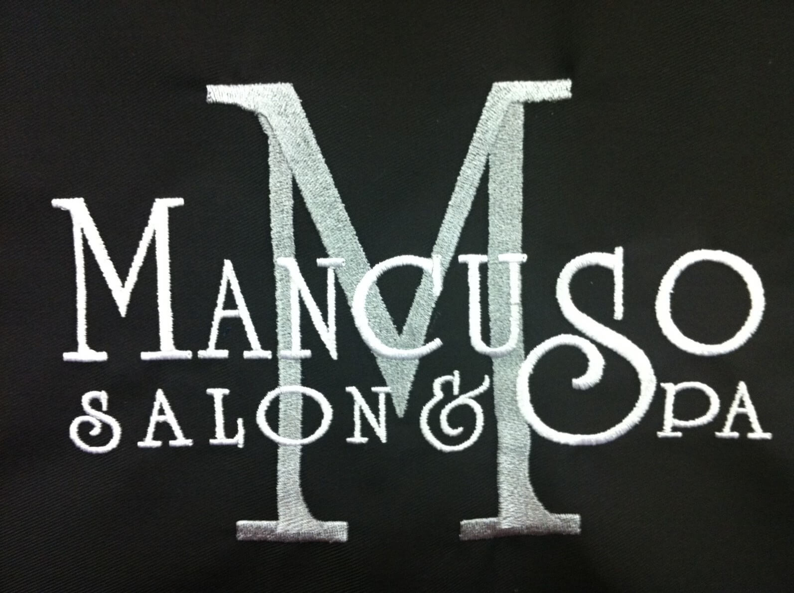 Mancuso salon and spa loves Custom Salon Capes!