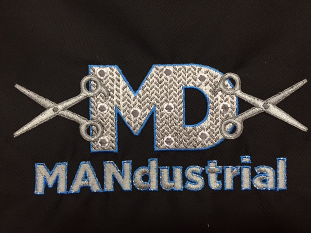 Mandustrial loves Custom Salon Capes!