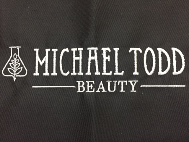 Michael Todd beauty loves Custom Salon Capes!