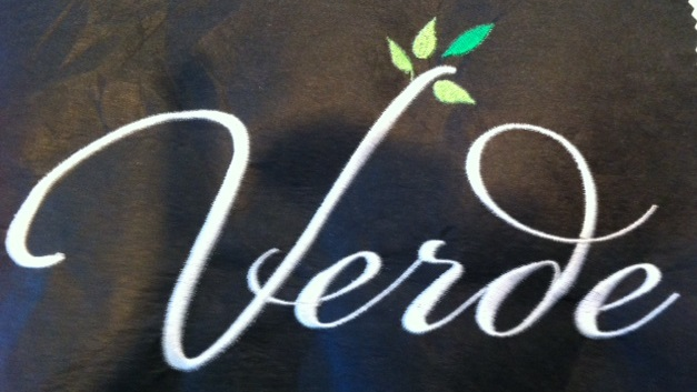 Verde salon loves Custom Salon Capes!