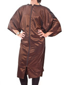 Zip Front Robes and Client Smocks in Brown