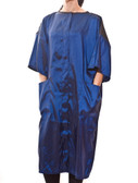 Salon Smocks in Royal Blue