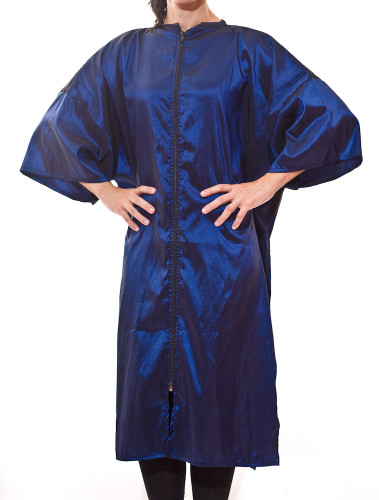 Buy Zip Front Robes for your Salon Client Gowns and Beauty Salon Smocks direct from the manufacturer and save money now!