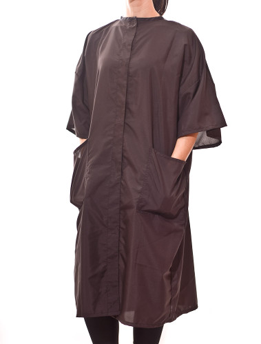 Our lightweight Beauty Salon Smocks will be the best Snap Front Smocks and Salon Client Gowns you've ever had!