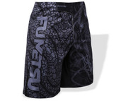 Fumetsu Rampage Fight Shorts Black Grey