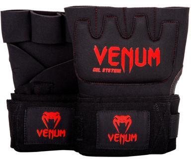 Venum Kontact Gel Wrap Gloves Black Red