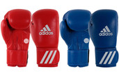 Adidas Leather Wako Boxing Gloves 10oz