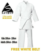 Slightly Marked Spirit Adult 9oz Traditional Karate Uniform