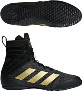Adidas Speedex 18 Black Boxing Boots